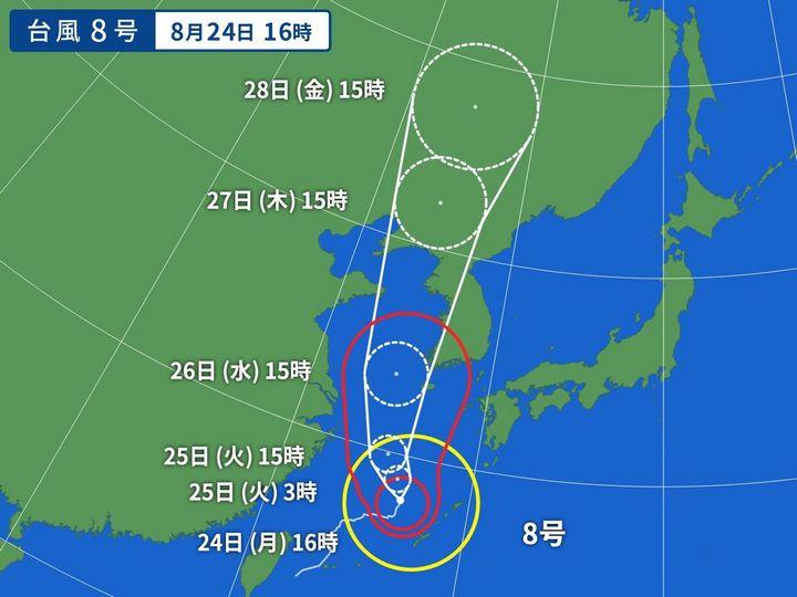 2020年 台風予想(`・ω・´)ゞビシッ!!