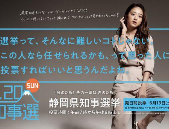 静岡県民の皆様!清き一票を投じましょう(`・ω・´)ゞビシッ!!